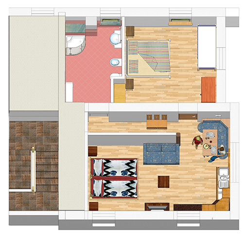 Apartment 1 - Type B